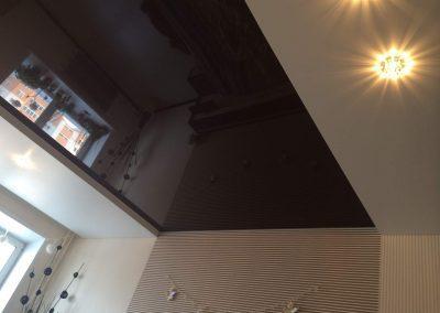 Двухуровневые натяжные потолки (13)