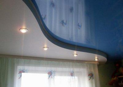 Двухуровневые натяжные потолки (24)