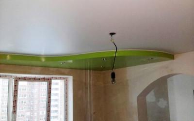 Двухуровневые натяжные потолки (3)
