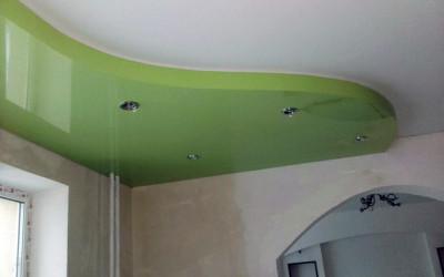 Двухуровневые натяжные потолки (4)
