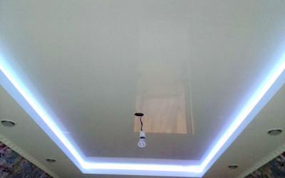 Двухуровневые натяжные потолки (6)