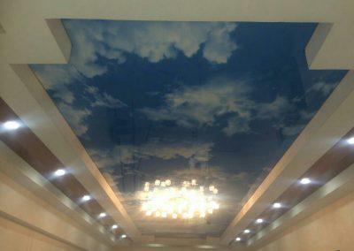 Двухуровневые натяжные потолки (8)