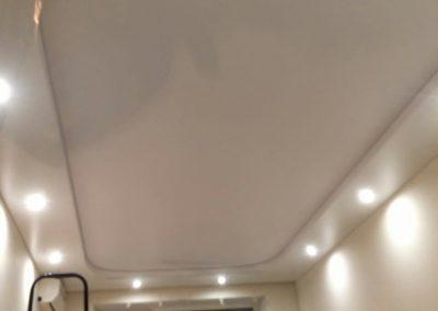 Двухуровневый натяжной потолок Скайлайн в Оренбурге (1)