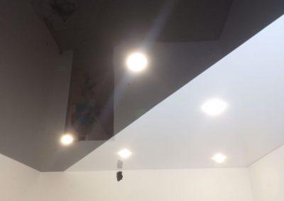 Криволинейная спайка натяжных потолков - Скайлайн в Оренбурге (2)