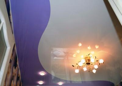 Натяжные потолки - криволинейная спайка - Скайлайн в Оренбурге (1)