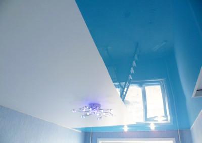 Натяжные потолки - криволинейная спайка - Скайлайн в Оренбурге (2)