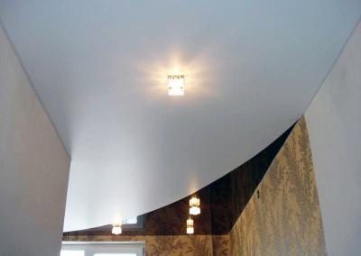 Натяжные потолки - криволинейная спайка - Скайлайн в Оренбурге (3)