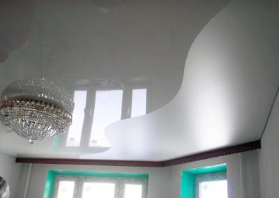 Натяжные потолки - криволинейная спайка - Скайлайн в Оренбурге (4)