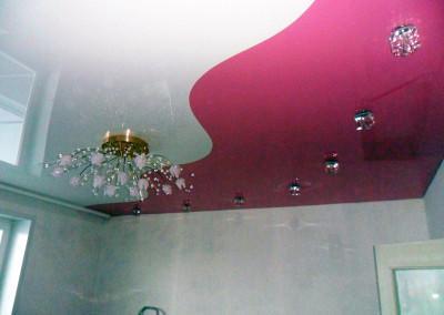 Натяжные потолки - криволинейная спайка - Скайлайн в Оренбурге (5)