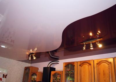 Натяжные потолки - криволинейная спайка - Скайлайн в Оренбурге (7)