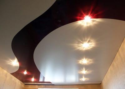 Натяжные потолки - криволинейная спайка - Скайлайн в Оренбурге (8)