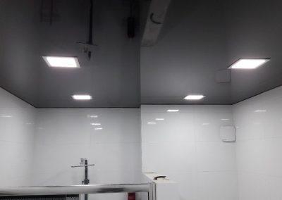 Одноуровневые натяжные потолки (13)