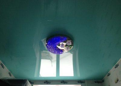 Одноуровневые натяжные потолки (6)