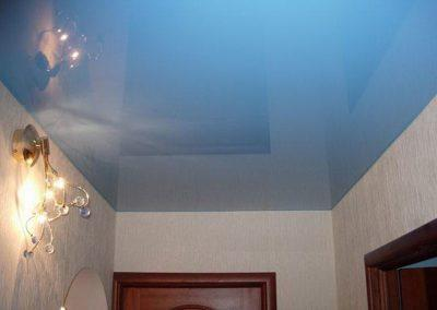Одноуровневые натяжные потолки (7)
