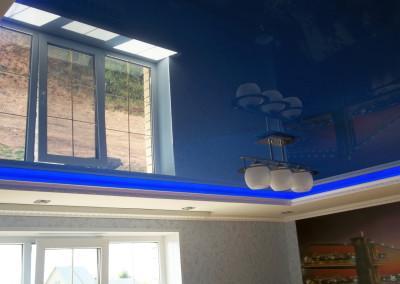 Парящие натяжные потолки - работа Skyline56 в Оренбурге