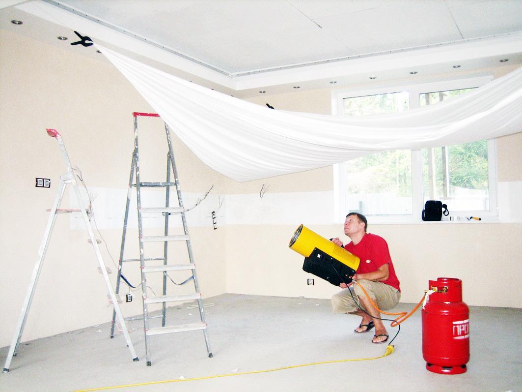 Натяжная крыша (потолок)