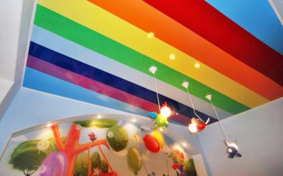 Выбираем цвет натяжного потолка