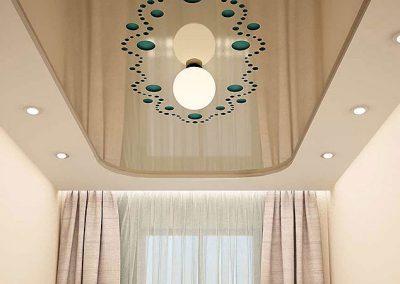 Перфорированные резные натяжные потолки (18)