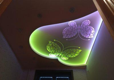 Резные натяжные потолки Скайлайн в Оренбурге (3)