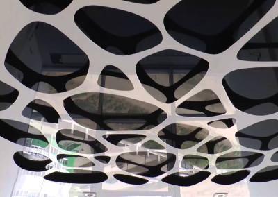 Резные перфорированные натяжные потолки - Скайлайн в Оренбурге (1)