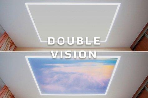 Double Vision натяжные потолки