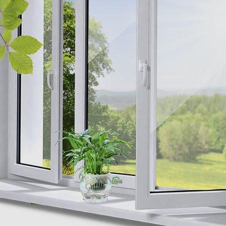 ПВХ окна (профиль Вектор, Граин, КВЕ)