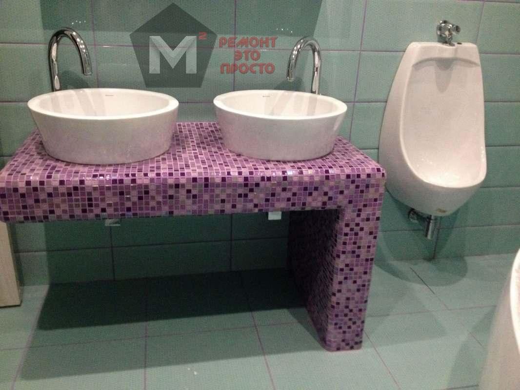 ремонт санузла ванной комнаты под ключ в Оренбурге м2 (1)