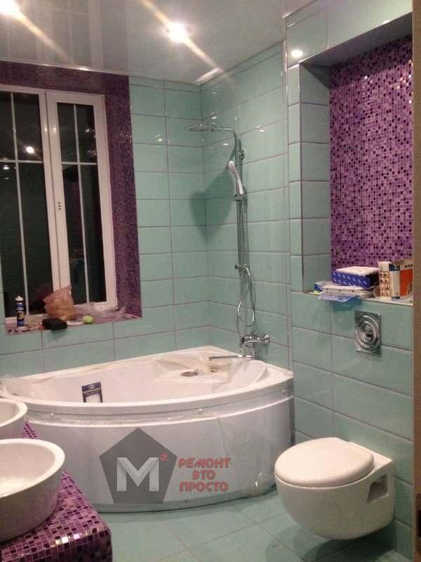 ремонт санузла ванной комнаты под ключ в Оренбурге м2 ремонт квартир (1)