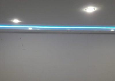 Двухуровневые натяжные потолки - Скай Лайн в Оренбурге (12)