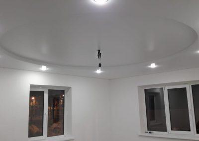 Двухуровневые натяжные потолки - Скай Лайн в Оренбурге (5)