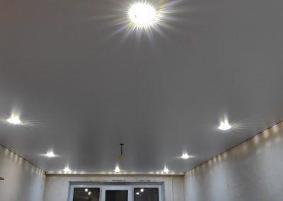 Одноуровневые натяжные потолки - Скай Лайн в Оренбурге (10)