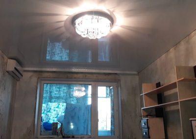 Одноуровневые натяжные потолки - Скай Лайн в Оренбурге (23)