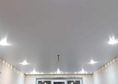 Одноуровневые натяжные потолки - Скай Лайн в Оренбурге (24)
