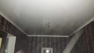 Одноуровневые натяжные потолки — Скай Лайн в Оренбурге (28)