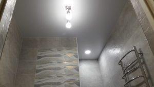 Одноуровневые натяжные потолки – Скай Лайн в Оренбурге (35)