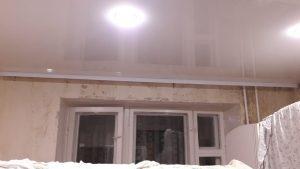 Одноуровневые натяжные потолки — Скай Лайн в Оренбурге (39)