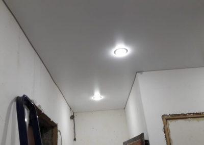 Одноуровневые натяжные потолки - Скай Лайн в Оренбурге (41)