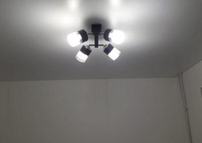 Одноуровневые натяжные потолки - Скай Лайн в Оренбурге (43)