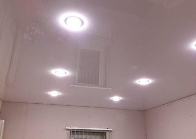 Одноуровневые натяжные потолки - Скай Лайн в Оренбурге (44)