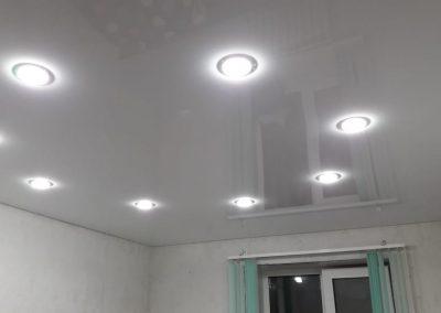 Одноуровневые натяжные потолки - Скай Лайн в Оренбурге (45)