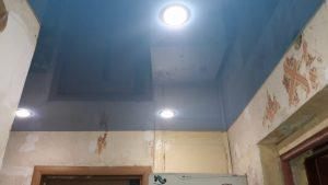 Одноуровневые натяжные потолки – Скай Лайн в Оренбурге (46)
