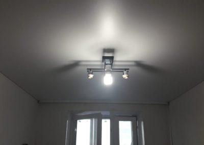 Одноуровневые натяжные потолки - Скай Лайн в Оренбурге (47)