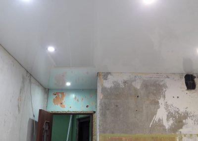 Одноуровневые натяжные потолки - Скай Лайн в Оренбурге (50)