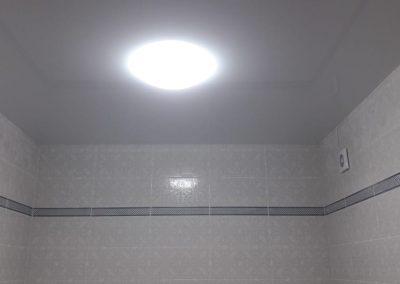 Одноуровневые натяжные потолки - Скай Лайн в Оренбурге (51)
