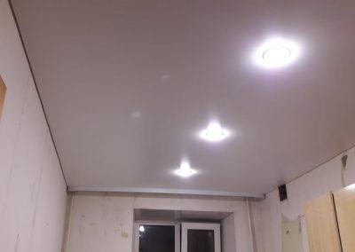 Одноуровневые натяжные потолки - Скай Лайн в Оренбурге (66)