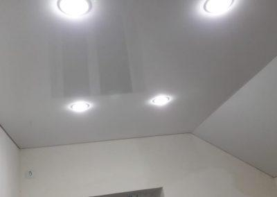 Одноуровневые натяжные потолки - Скай Лайн в Оренбурге (69)