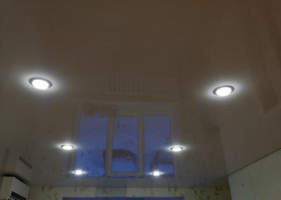 Одноуровневые натяжные потолки - Скай Лайн в Оренбурге (84)